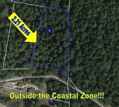 Mendocino, Fort Bragg, Caspar, Little River, Albion, Westport, Comptche, Elk, Navarro Residential Lots & Land For Sale: 29450 Simpson Lane