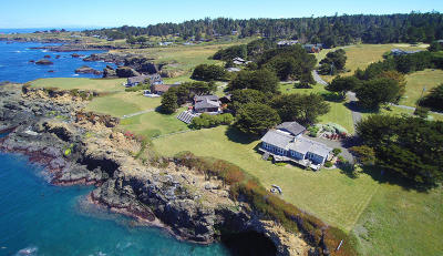 Mendocino Single Family Home For Sale: 45620 Cypress Drive