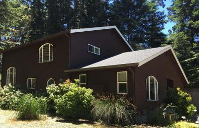 Mendocino Single Family Home For Sale: 44654 Forest Circle
