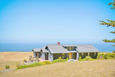 Fort Bragg Single Family Home For Sale: 33100 Ca-1