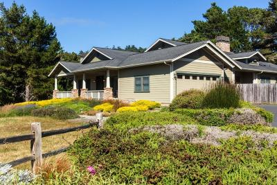 Mendocino Single Family Home For Sale: 9021 Frontage Road