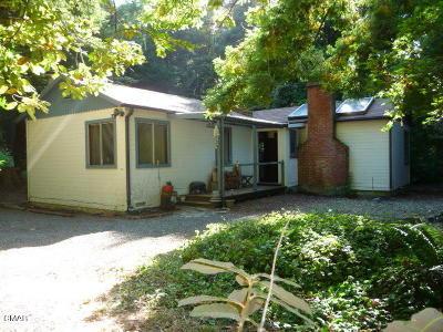 Fort Bragg Single Family Home For Sale: 18850 Trillium Lane