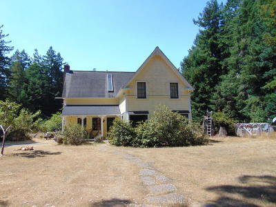 Mendocino Single Family Home For Sale: 8261 Outlaw Springs Road