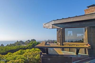 Mendocino CA Single Family Home For Sale: $1,349,000