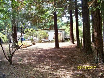 Fort Bragg Single Family Home For Sale: 32657 Simpson Lane