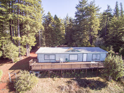Mendocino County Single Family Home For Sale: 28200 Simpson Lane