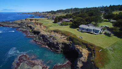 Mendocino CA Single Family Home For Sale: $1,980,000