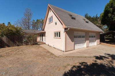 Mendocino CA Single Family Home For Sale: $675,000