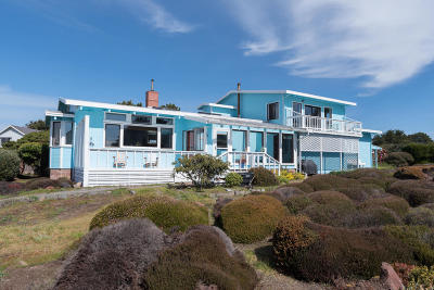 Fort Bragg CA Single Family Home For Sale: $833,999