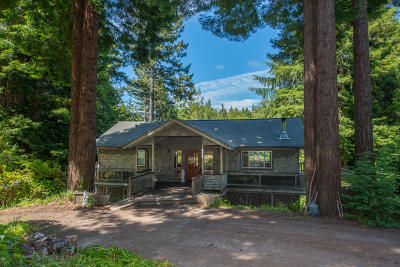 Mendocino CA Single Family Home For Sale: $835,000