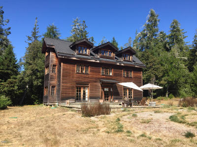 Mendocino Single Family Home For Sale: 40800 Comptche Ukiah Road