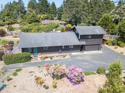 Mendocino CA Single Family Home For Sale: $679,000