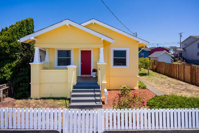 Fort Bragg Single Family Home For Sale: 228 S Franklin Street