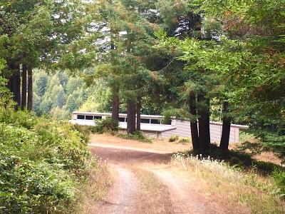 Mendocino Single Family Home For Sale: 44280 Caspar Little Lake Road