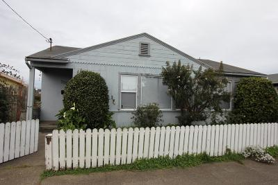 Fort Bragg Multi Family Home For Sale: 335 S Whipple Street