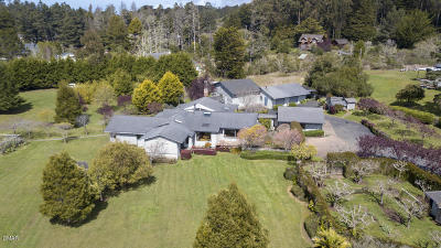 Mendocino CA Single Family Home For Sale: $1,289,000
