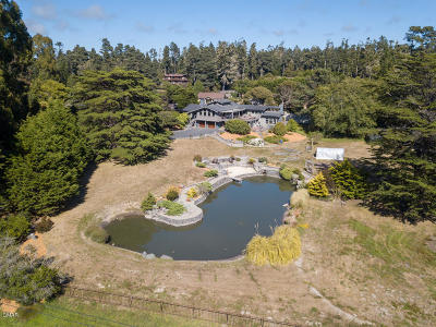 Fort Bragg Single Family Home For Sale: 17401 Ocean Drive