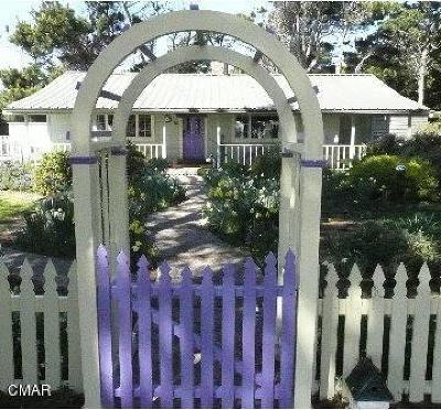 Mendocino County Single Family Home For Sale: 15550 Highway 1