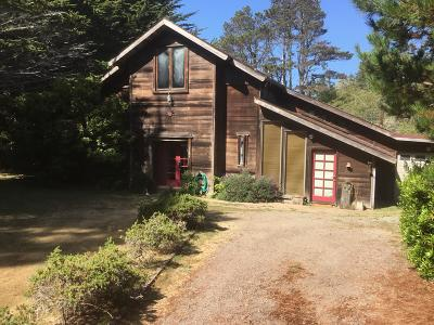 Mendocino CA Single Family Home For Sale: $559,000