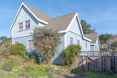Mendocino CA Multi Family Home For Sale: $995,000