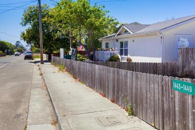 Fort Bragg Multi Family Home For Sale: 1443/1445 Oak Street #/1445