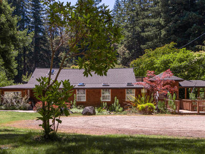 Mendocino Single Family Home For Sale: 40701-751 Comptche Ukiah Road