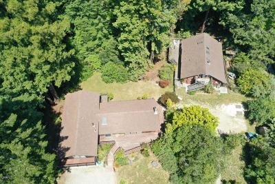 Fort Bragg Single Family Home For Sale: 29700 Sherwood Road