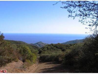 Malibu Residential Lots & Land For Sale: Mar Vista Ridge Road