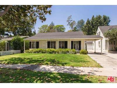 Los Angeles CA Single Family Home Sold: $1,595,000