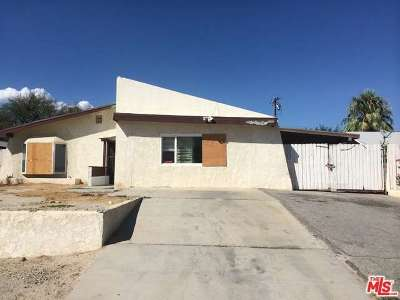 Single Family Home Sold: 65812 Cahuilla Avenue