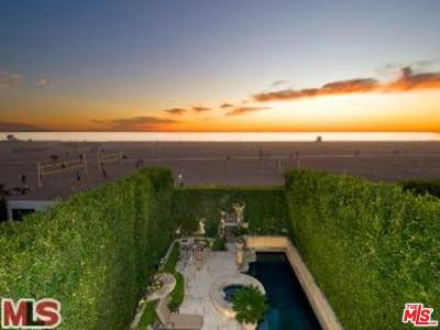 Los Angeles County Rental For Rent: 703 Palisades Beach Road