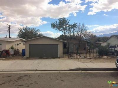 Single Family Home Sold: 66075 Acoma Avenue