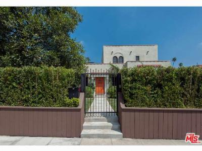 Hollywood Single Family Home Sold: 1978 North Van Ness Avenue