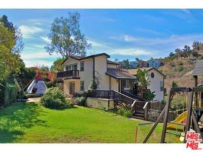 Single Family Home Closed: 3806 Las Flores Canyon Road