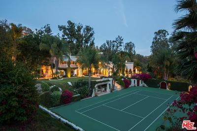 Beverly Hills Single Family Home For Sale: 2727 Benedict Canyon Drive