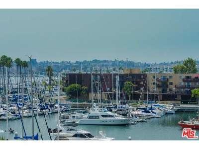 Marina Del Rey Condo/Townhouse Sold: 4335 Marina City Drive #134