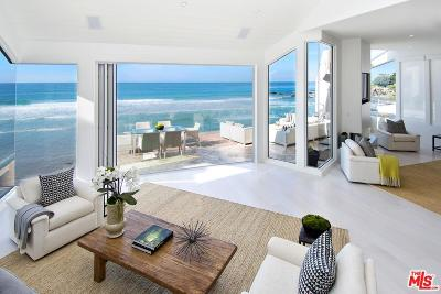 Malibu Single Family Home For Sale: 31454 Broad Beach Road