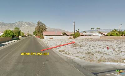 Cathedral City CA Residential Lots & Land For Sale: $80,000