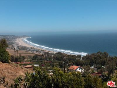 Malibu Residential Lots & Land For Sale: 31345 Pacific Coast Highway