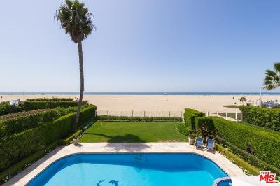 Los Angeles County Rental For Rent: 506 Palisades Beach Road