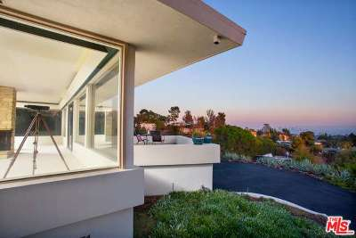 Hollywood Single Family Home Sold: 6145 Mulholland Highway
