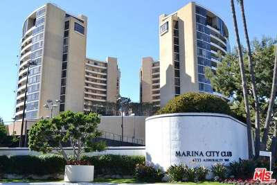 Marina Del Rey Condo/Townhouse Sold: 4337 Marina City Drive #443