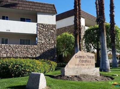 Palm Springs Condo/Townhouse For Sale: 2393 South Skyview Drive #22