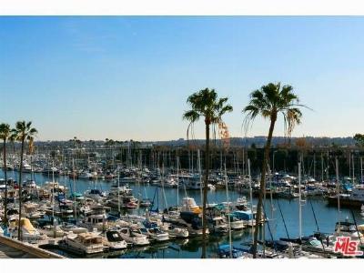 Marina Del Rey Condo/Townhouse Sold: 4267 Marina City Drive #112