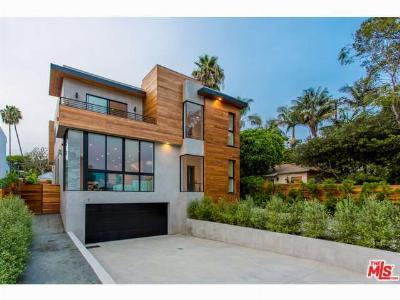 Santa Monica Single Family Home Sold: 2215 Dewey Street