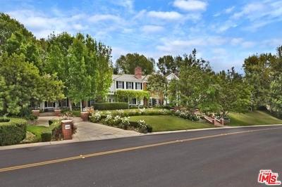Westlake Village Single Family Home For Sale: 1096 Lakeview Canyon Road