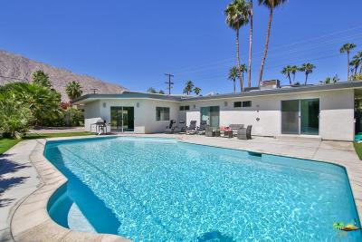 Palm Springs Single Family Home For Sale: 841 East Sunny Dunes Road