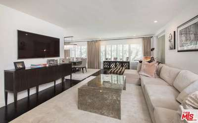 Beverly Hills Condo/Townhouse Closed: 165 North Swall Drive #201