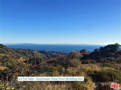 Malibu Residential Lots & Land For Sale: 24020 Hovenweep Lane