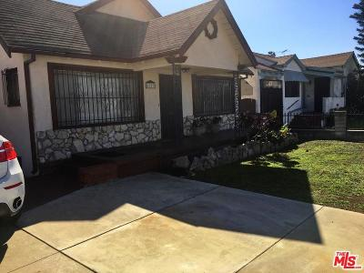 Los Angeles Single Family Home For Sale: 1822 West 78th Street